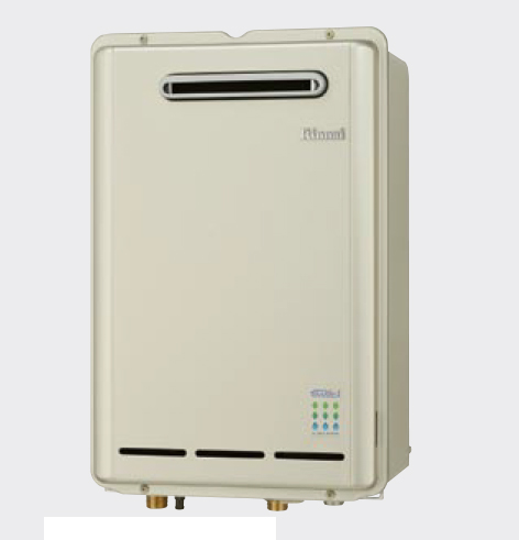 【RUX-E2403W】 《TKF》 リンナイ 給湯専用給湯器 エコジョーズ 屋外壁掛型 ωα0