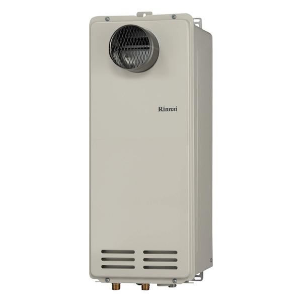 【RUX-VS1616T(A)】 《TKF》 リンナイ 給湯専用ガス給湯器 16号 PS扉内設置型/前排気 従来型 ωα0
