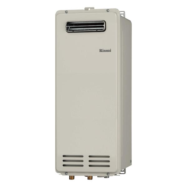 【RUX-VS1606W(A)-E】 《TKF》 リンナイ 給湯専用ガス給湯器 16号 屋外壁掛型 従来型 ωα0