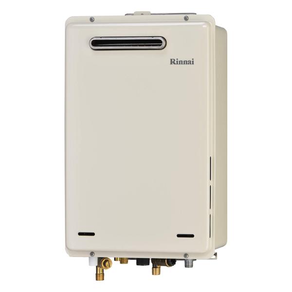 【RUJ-A1610W】 《TKF》 リンナイ 高温水供給式ガス給湯器 16号 屋外壁掛型 従来型 ωα0