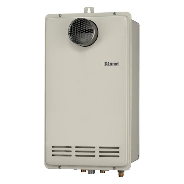 【RUF-VK1600SAT(B)】 《TKF》 リンナイ ガス給湯器 16号 コンパクトタイプ PS扉内設置/PS前排気型 オート [旧品番:RUF-VK1600SAT(A)] ωβ0