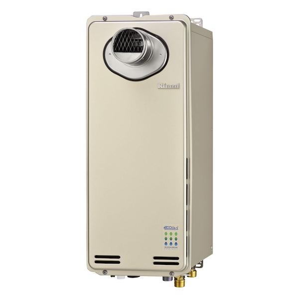 【RUF-SE1615AT】 《TKF》 リンナイ ガスふろ給湯器 16号 PS扉内設置型/前排気 エコジョーズ フルオート スリムタイプ ωα0