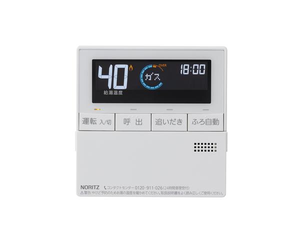 【RC-J101M】 《TKF》 ノーリツ ガスふろ給湯器 台所リモコン 標準タイプ 〔RC-D101M 後継品〕 ωα0