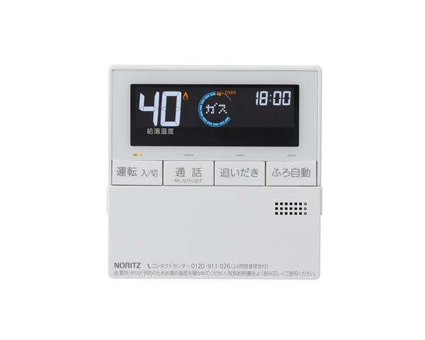 【RC-J101MP】 《TKF》 ノーリツ ガスふろ給湯器 台所リモコン インターホン付タイプ 〔RC-D101MP 後継品〕 ωα0
