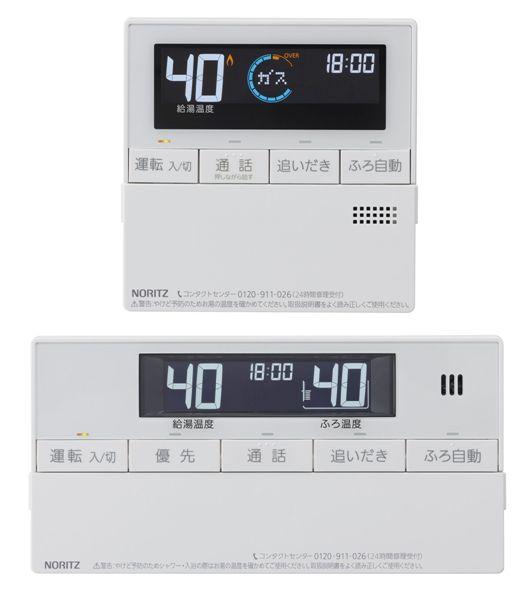 【RC-J101PE マルチセット】 《TKF》 ノーリツ ガスふろ給湯器 マルチリモコンセット インターホン付 〔RC-D101PE 後継品〕 ωα0