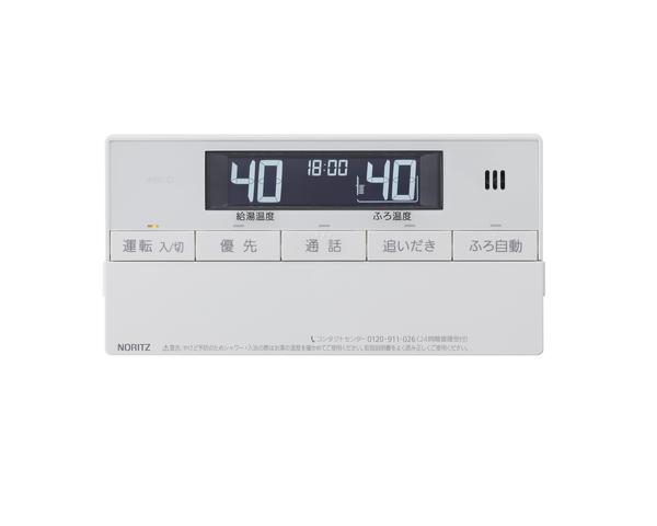 【RC-J101SPE】 《TKF》 ノーリツ ガスふろ給湯器 浴室リモコン インターホン付 〔RC-D101SPE 後継品〕 ωα0