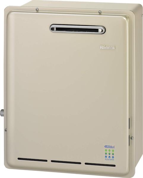 【RUX-E2406G】 《TKF》 リンナイ 給湯専用ガス給湯器 24号 屋外据置型 エコジョーズ ωα0