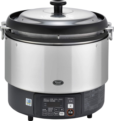 【RR-S300G-HB】 《TKF》 リンナイ 業務用ガス炊飯器 卓上型 6.0L ωα0