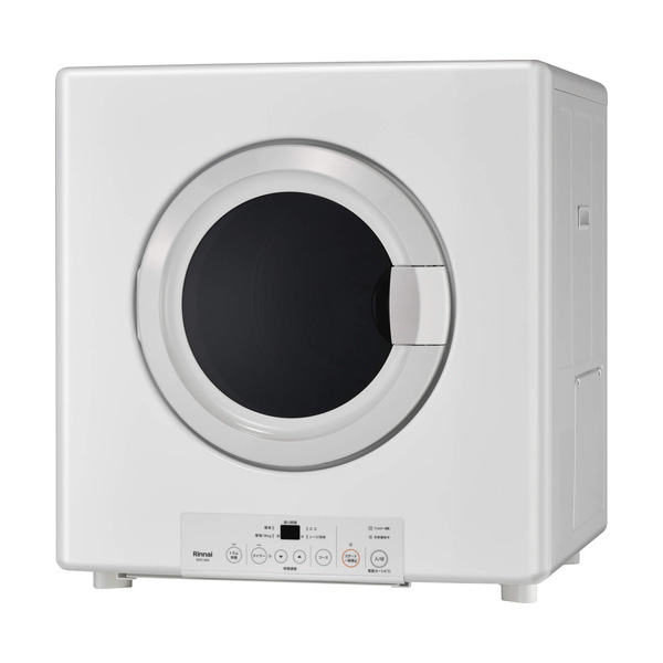 格安 RDTC-80UA 《TKF》 リンナイ 業務用ガス衣類乾燥機 乾太くん ネジ接続タイプ テレビで話題 ωα1 左右可変ドア 8.0kg