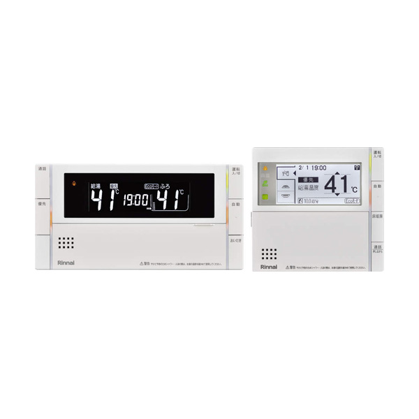 【MBC-302VCF(B)】 《TKF》 リンナイ マルチリモコン ボイス機能 インターホン付き 床暖房対応 ωα0