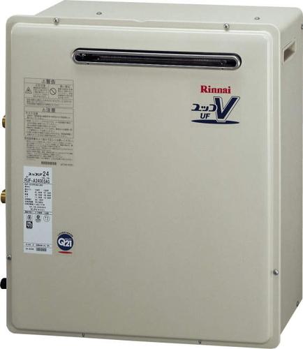 【RUF-A1600AG(A)】 《TKF》 リンナイ ガス給湯器 16号 屋外据置型 フルオート ωα0