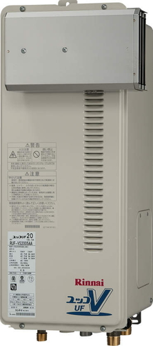 【RUF-VS1615AA】 《TKF》 リンナイ ガス給湯器 16号 スリムタイプ アルコーブ設置型 フルオート ωβ0