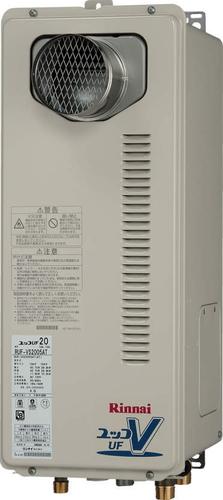 【RUF-VS1615SAT】 《TKF》 リンナイ ガス給湯器 16号 スリムタイプ PS扉内設置/PS前排気型 オート ωβ0