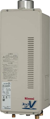 【RUF-VS2005AU】 《TKF》 リンナイ ガス給湯器 20号 スリムタイプ PS扉内上方排気型 フルオート ωβ0