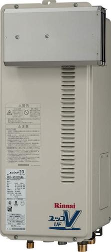 【RUF-VS2005SAA】 《TKF》 リンナイ ガス給湯器 20号 スリムタイプ アルコーブ設置型 オート ωβ0