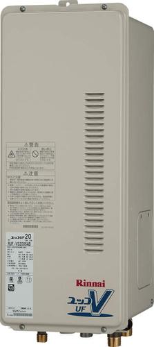 【RUF-VS2005SAB】 《TKF》 リンナイ ガス給湯器 20号 スリムタイプ PS扉内後方排気型 オート ωβ0