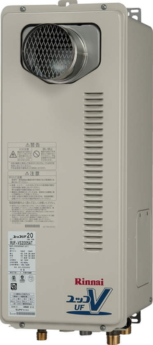 【RUF-VS2005SAT】 《TKF》 リンナイ ガス給湯器 20号 スリムタイプ PS扉内設置/PS前排気型 オート ωβ0