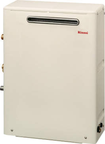 【RUX-A1613G】 《TKF》 リンナイ ガス給湯器 16号 給湯専用 給湯給水接続15Aタイプ 屋外据置型 ωβ0