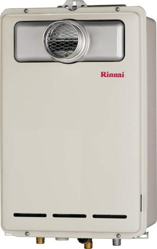 【RUX-A1613T】 《TKF》 リンナイ ガス給湯器 16号 給湯専用 給湯給水接続15Aタイプ PS扉内設置/PS前排気型 ωβ0