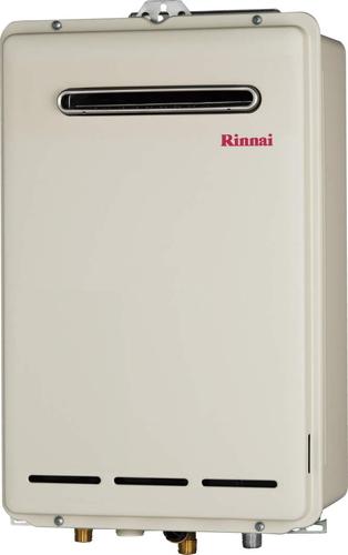 【RUX-A1613W】 《TKF》 リンナイ ガス給湯器 16号 給湯専用 給湯給水接続15Aタイプ 屋外壁掛型 ωβ0