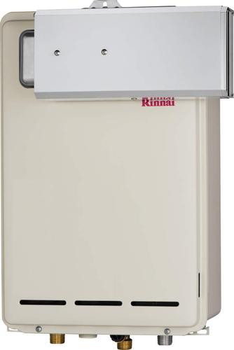 【RUX-A2003A】 《TKF》 リンナイ ガス給湯器 20号 給湯専用 給湯給水接続20Aタイプ アルコーブ設置型 ωβ0