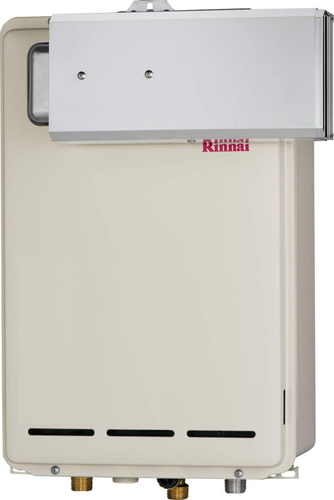 【RUX-A2403A】 《TKF》 リンナイ ガス給湯器 24号 給湯専用 給湯給水接続20Aタイプ アルコーブ設置型 ωβ0