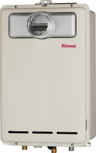 【RUX-A2403T】 《TKF》 リンナイ ガス給湯器 24号 給湯専用 給湯給水接続20Aタイプ PS扉内設置/PS前排気型 ωβ0