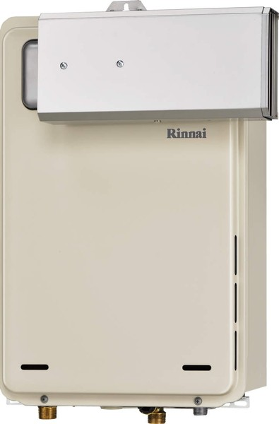 【RUX-A2406A】 《TKF》 リンナイ ガス給湯器 24号 給湯専用 アルコーブ設置型 〔旧品番:RUX-A2400A〕 ωβ0