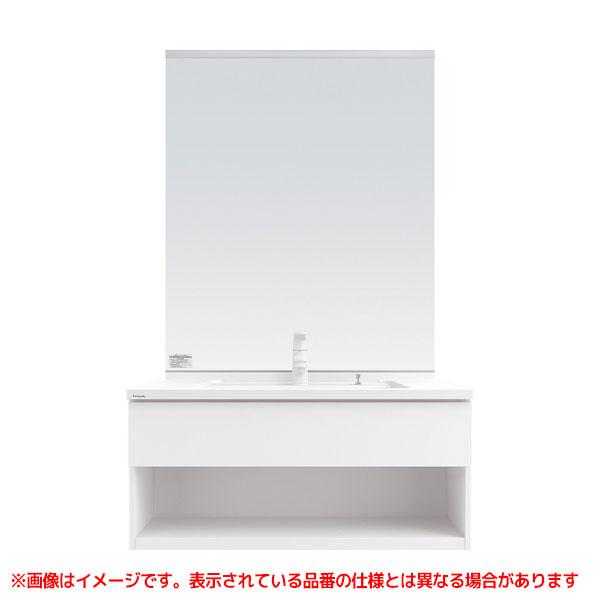 【XGQC90D5EJ◯□ GQC50C1NM□】 《KJK》 パナソニック 洗面化粧台 Cライン 900mm 引出し マルチシングルレバーシャワー 収納付1面鏡 ωκ0