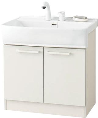 【LSBB-70EWN1B】 《TKF》 ノーリツ 洗面化粧台 LTシリーズ ベースキャビネット 間口750mm ωα1