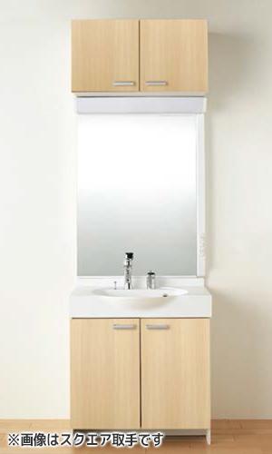 【LPBBL-070AYWN LPAM-071LHA ライン取手】 《TKF》 ノーリツ 洗面化粧台 ソフィニア 間口750タイプ 洗面化粧台+ワイド1面鏡 ωμ1
