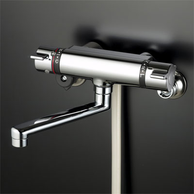 【KF800TR2】 《TKF》 KVK サーモスタット式シャワー240mmパイプ付 ωζ0