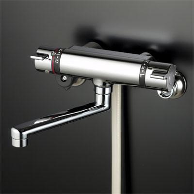 【KF800TR3】 《TKF》 KVK サーモスタット式シャワー300mmパイプ付 ωζ0