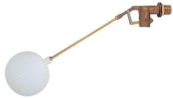 【6616-50】 《TKF》 カクダイ 複式ボールタップ(ポリ玉) ωσ0