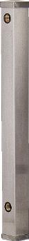 【6161B-20X1500】 《TKF》 カクダイ ステンレス水栓柱(20ミリ)//70角 ωσ0