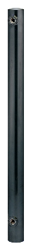 【624-042】 《TKF》 カクダイ ステンレス水栓柱(丸型・黒ニッケルメッキ) ωσ0