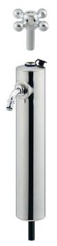 【624-082】 《TKF》 カクダイ 共用ステンレス水栓柱(ショート型) ωσ0