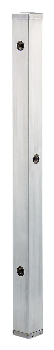 【624-114】 《TKF》 カクダイ ステンレス水栓柱(分水孔つき)//60角 ωσ0