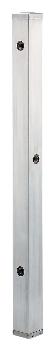 【624-115】 《TKF》 カクダイ ステンレス水栓柱(分水孔つき)//60角 ωσ0