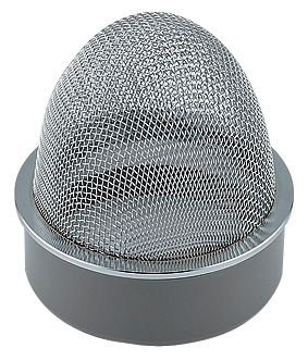 【400-238-150】 《TKF》 カクダイ 山型防虫目皿 ωσ0