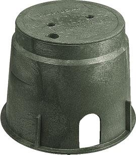 【504-011】 《TKF》 カクダイ 電磁弁ボックス(丸型) ωσ0