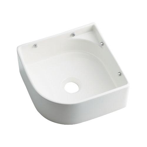 493-048-W 与え 《TKF》 カクダイ 壁掛手洗器 ωσ0 受注生産品