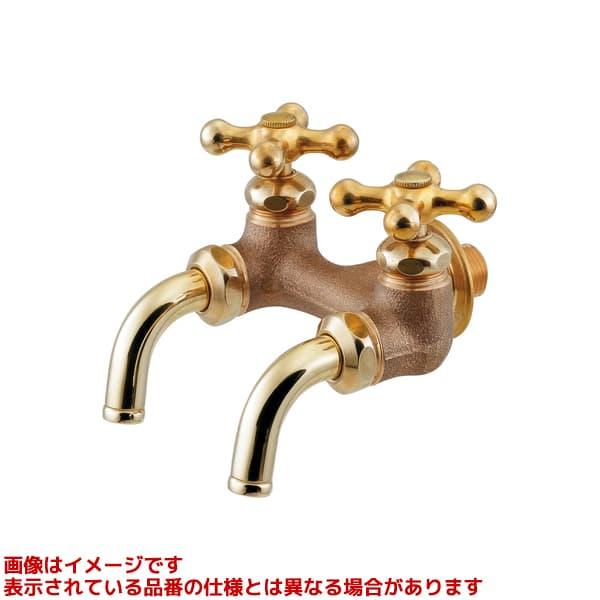 705-016-CU 保証 《TKF》 カクダイ 爆買いセール 双口ホーム水栓 ωσ0