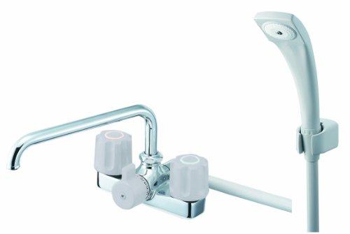 【SK710-LH-13】 《TKF》 三栄水栓 SANEI ツーバルブデッキシャワー混合栓 ωθ0
