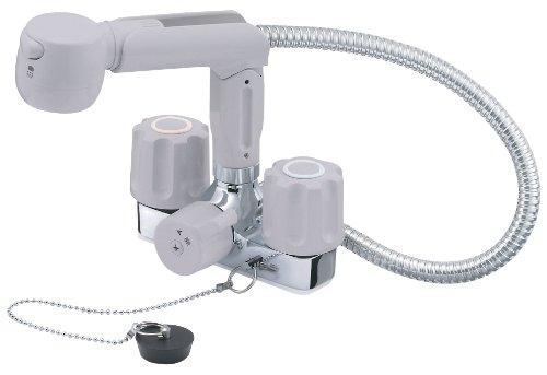 【K3104KR-LH-13】 《TKF》 三栄水栓 SANEI ツーバルブスプレー混合栓 ωθ0