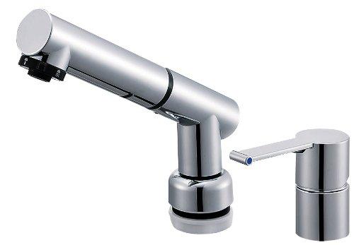 【K37510JVZ-13】 《TKF》 三栄水栓 SANEI シングルスプレー混合栓 ωθ0