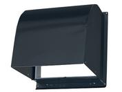 【P-20CVSD4-BK】 《TKF》 三菱電機 標準換気扇システム部材 ステンレス製防火ダンパー付ウェザーカバー(防火型) ωβ0