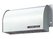 【P-28CVS】 《TKF》 三菱電機 浅形レンジフードファン用システム部材 ステンレス製ウェザーカバー ωβ0