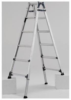 【PRW-180FX】 《TKF》 アルインコ住宅機器事業部 伸縮脚付はしご兼用脚立 ωο0