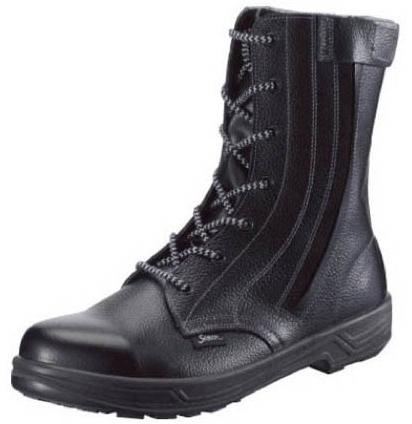 【SS33C-24.0】 《TKF》 シモン 外チャック式安全靴 スター ωο0